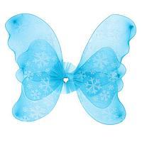 """Карнавальные крылья """"Ангел"""", цвет синий"""