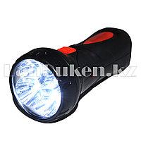 Карманный аккумуляторный фонарь светодиодный 2 режима KJ-8686 4 LED