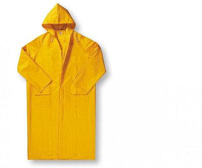 Влагозащитный плащ желтый