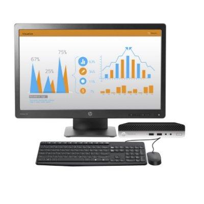 Компьютер HP 2MS60EA ProDesk 400 G3 DM i3-7100 500G 4.0G (Bundl) + monitor HP PRODisplay P232 23""