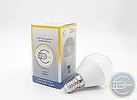 Светодиодная LED Лампа G45 6W E14 Экосвет