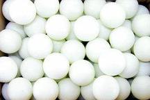 Теннисный мяч белый