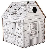 Картонный домик-раскраска BIBALINA, фото 1