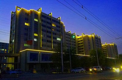 Архитектурное освещение и подсветка зданий