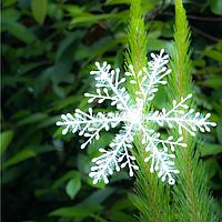 Набор декоративных снежинок d=9 см 3 штуки
