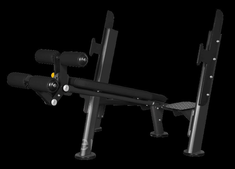 Скамья для жима с отрицательным наклоном Spirit Fitness AFB103