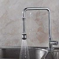 Гибкий экономитель воды на кран 16 см