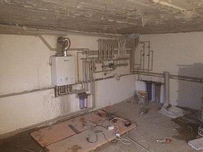"""Отопление и ВК  """"Под Ключ"""" дом 260 м2 Каскелен 10"""