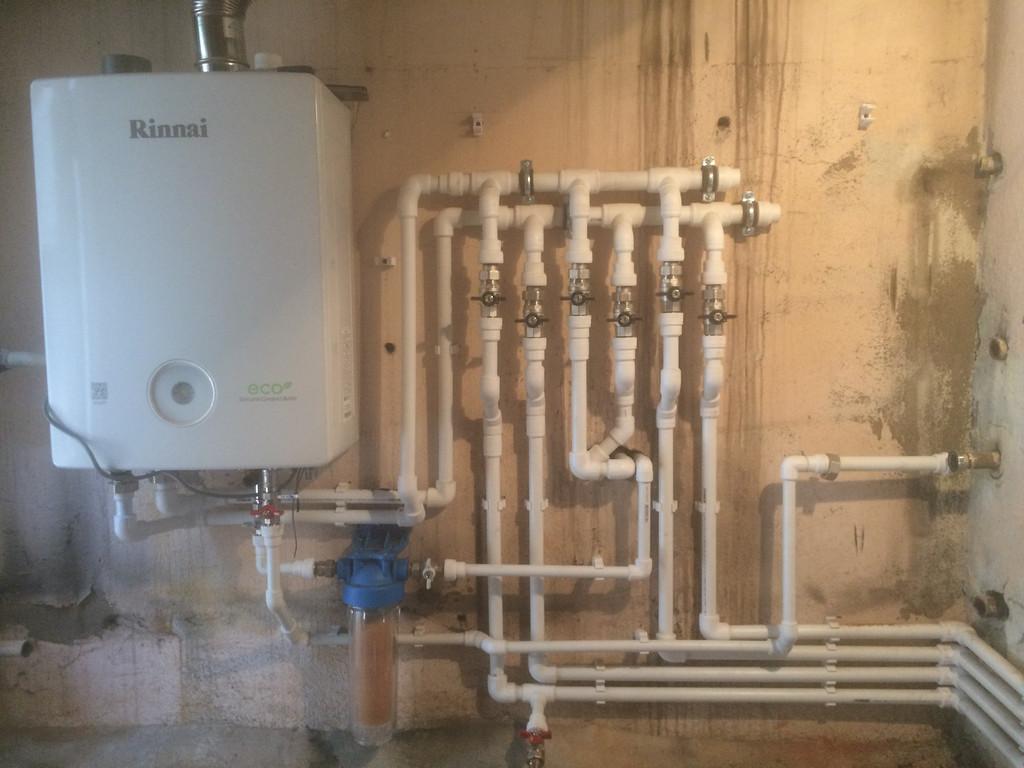 Демонтаж старой/монтаж новой системы отопления мкр. Тастак дом 120 м2