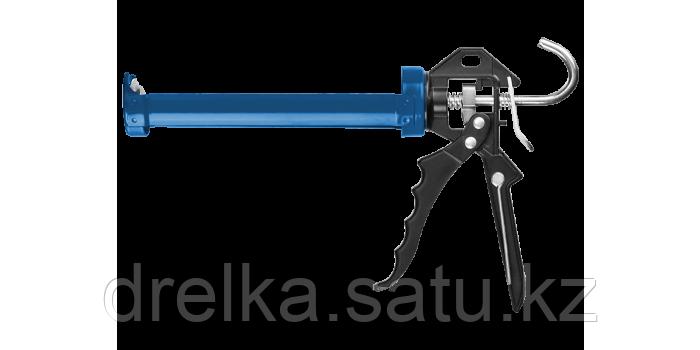 Пистолет для герметика полуоткрытый ЗУБР 06635, 310 мл, фото 2