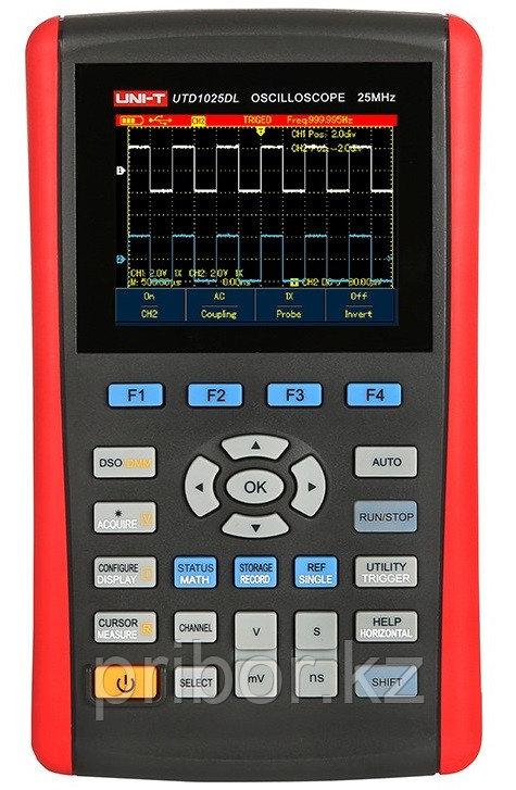 Осциллограф-мультиметр 25МГц, 2-х канальный UTD1025DL