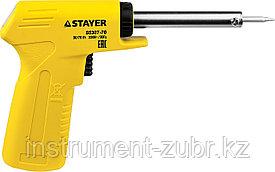 """Паяльник с пистолетной пластмассовой рукояткой, STAYER """"MASTER"""" MAXTerm, 55307-70, 30 - 70 Вт, конус"""