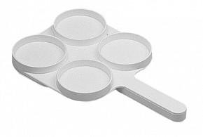 Планшет ( белая пластина) для диагностики мастита у коров КЕРБЛ