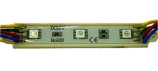 Светодиодный модуль 5054 Залитые (IP65) 0,72W, Цвет - Белый