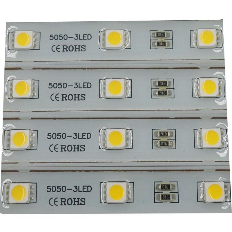 Светодиодный модуль 5050 Залитые (IP65) 0,60W, Цвет - Белый