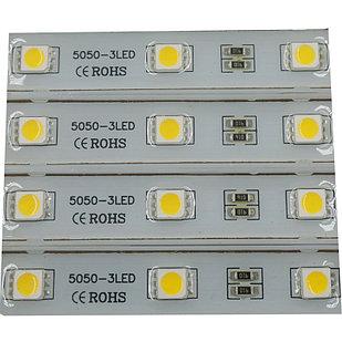 Светодиодный модуль 5050 Залитые (IP67) 0,72W, Цвет - Белый яркий