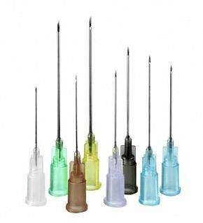 Игла инъекционная Луер, FINE-JECT, стерильная 16G (1,6х40 мм), канюля-белая, Хенке-Сас