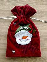 """Мешочек для подарков """"Снеговик"""", фото 1"""