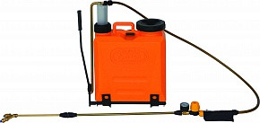 Опрыскиватель-спрейер VOLPI 20 литров, RECORD-20 бак и насос из пластика, для вакцинации птицы со спецфорсунка
