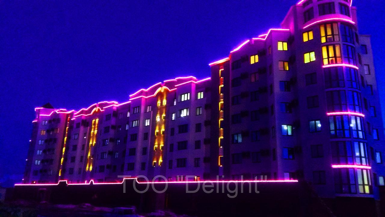 Уличное светодиодное освещение г. Атырау