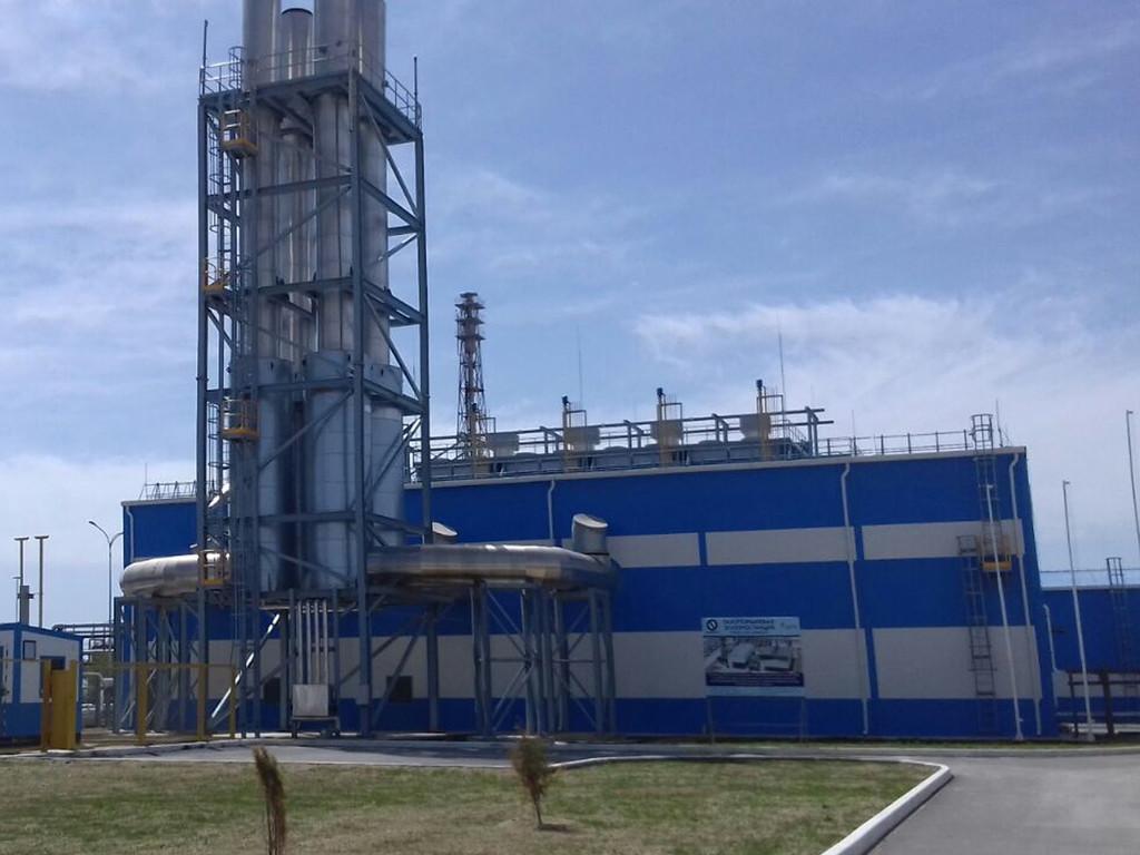 Газопоршневая электростанция в г. Актау