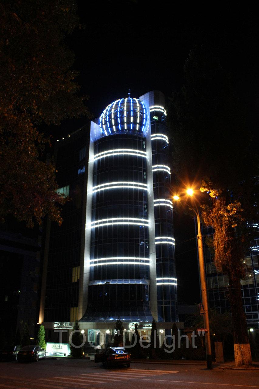 Архитектурное освещение в городе Алматы