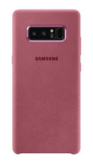 Чехол Alcantara Cover для Samsung Galaxy Note 8 N950 (розовый)