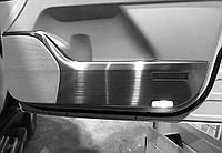 """Металлические накладки на двери """"Полированный алюминий"""" для Lexus LX570"""