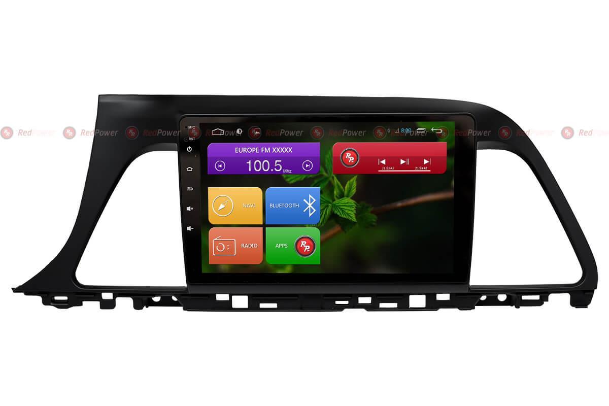 Магнитола для Hyundai Sonata Redpower android