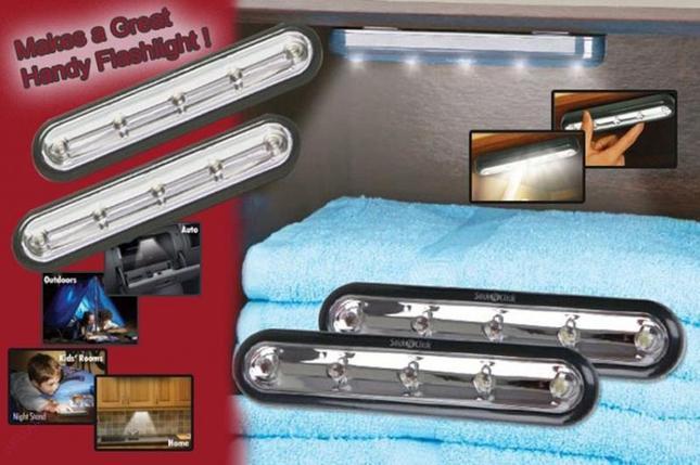 Беспроводные светильники Stick and Click(стик энд клик), фото 2