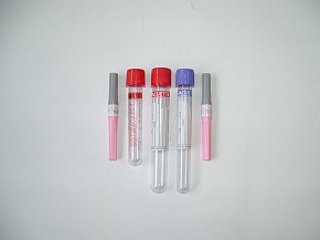Пробирка вакуумная Rustech для взятия крови (для гематологии) с ЭДТА К3, емк 9 мл, р-р: 16х100 мм