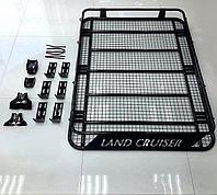 Багажник крышки металлический на LC80/100 с надписью