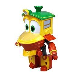 Роботы-поезда, Фигурка-трансформер Дак (Утёнок), 10 см