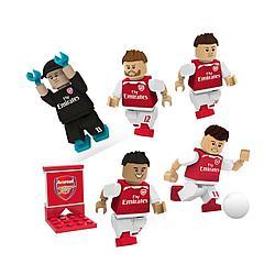 Набор из 5 коллекционных минифигурок Футбольного клуба Арсенал (Arsenal)
