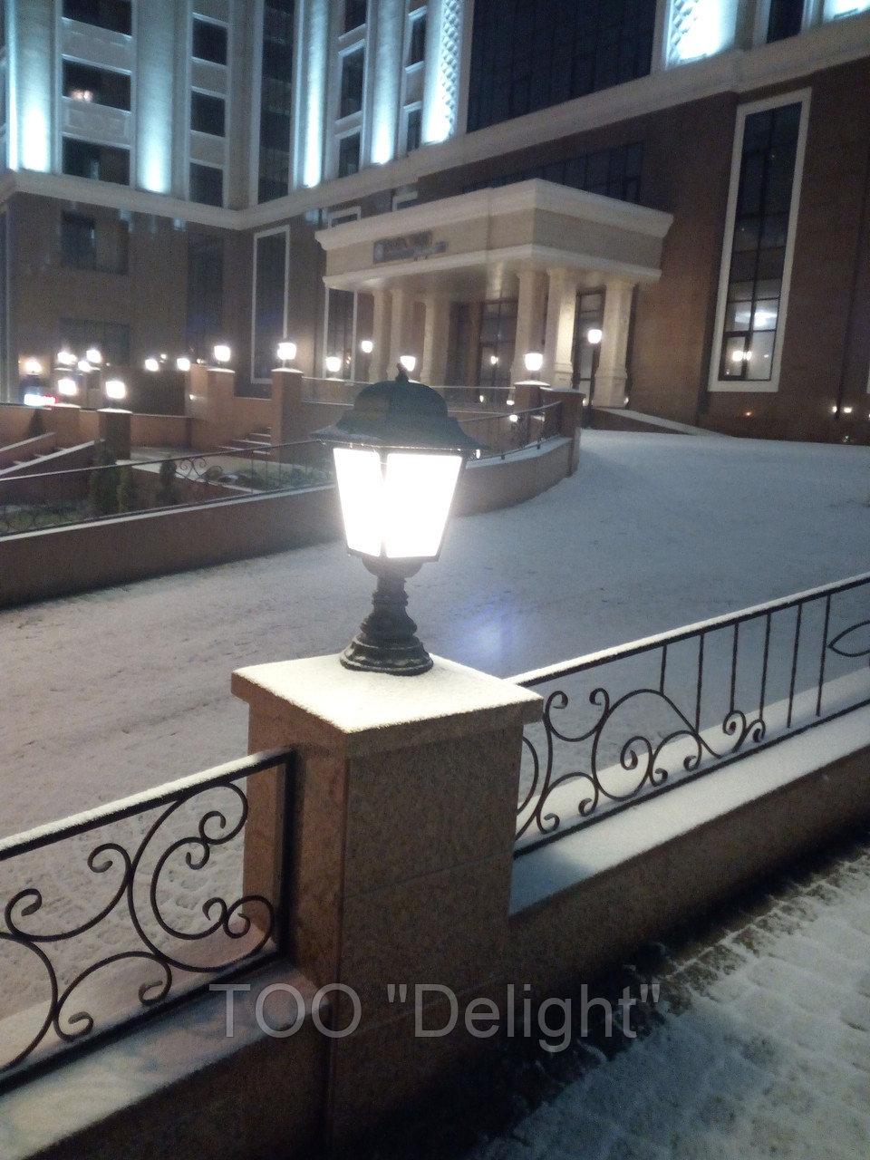 Благоустройство территории - Освещение, подсветка