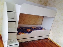 Детские двухъярусные кровати на заказ Алматы, фото 3