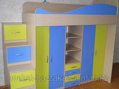 Детские двухъярусные кровати на заказ Алматы