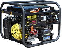 Электрогенератор бензиновый Huter DY8000LXA - 6,5 кВт, с электростартером, (64/1/30.)