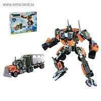 Конструктор «Робот-грузовик», 2 в 1, 607 деталей