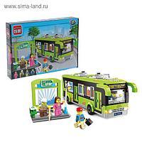 Конструктор «Городской автобус», 420 деталей и 4 минифигуры