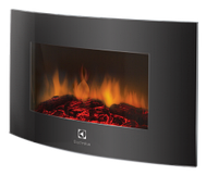 Электрический камин Electrolux EFP/W-1200URLS (чёрный)