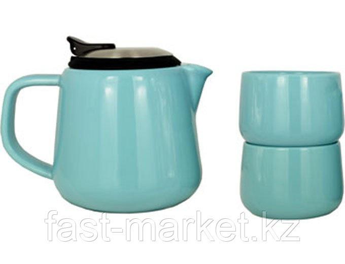 Чайный набор голубой