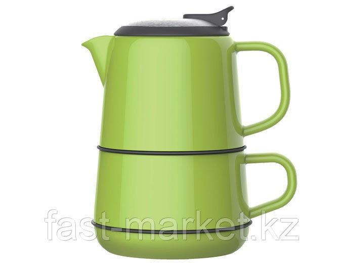 Чайный набор зеленый