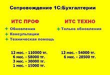 Сопровождение 1С-Бухгалтерия ИТС - ПРОФ