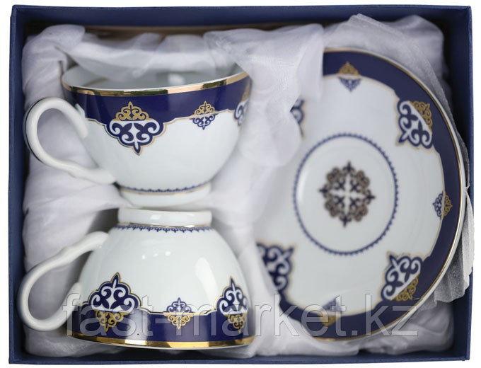 Чайный набор синий