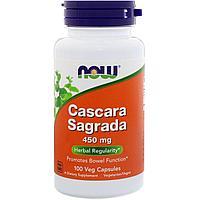 Кора Крушины (Cascara Sagrada) 450 мг. 100 капсул.