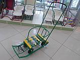 Санки Тимка 5 универсал с колесами, фото 3