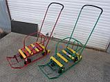 Санки Тимка 5 универсал с колесами, фото 5