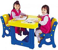 Детский столик с двумя стульями DS-905 от Haenim Toy, фото 1