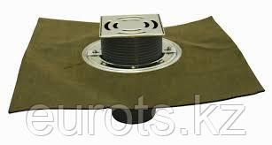 HL3100TH Трап для балконов и террас как HL3100T с полимербитумным полотном